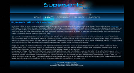 Supersonic Wii - Web Interface