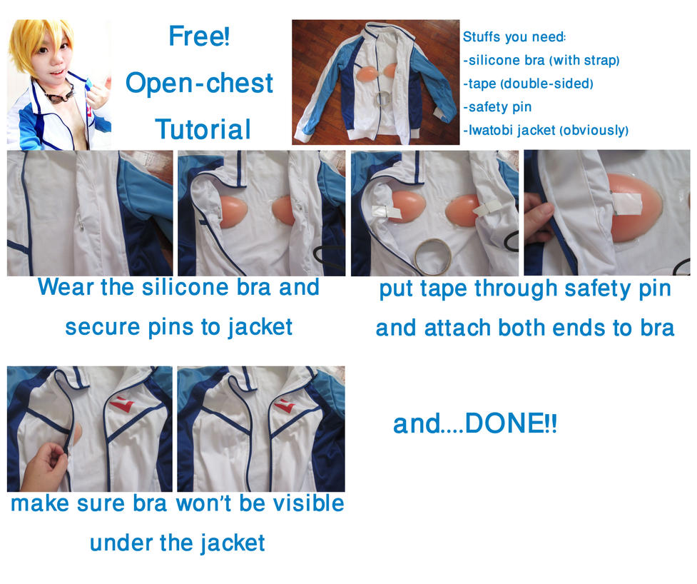 Safely Binding And Open Chest Binding