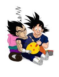 Dragon Ball belly (remake)