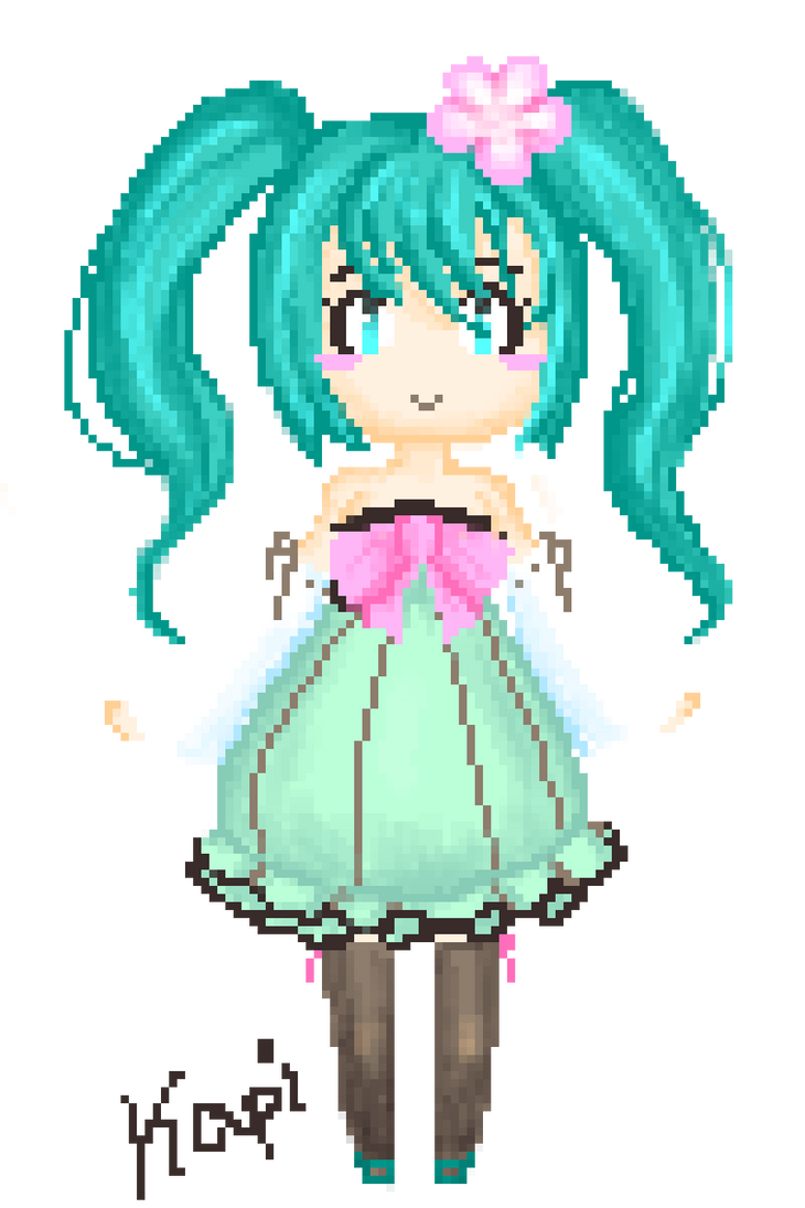 Miku hatusne by TroodontheDestroyer