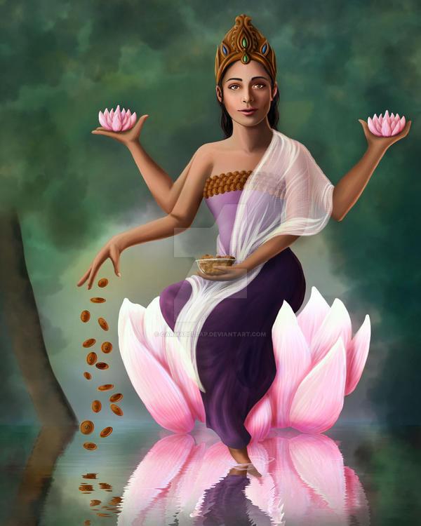 Lakshmi by CarmaBellaP