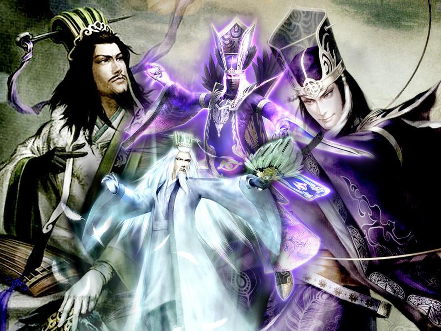 DW Zhuge Liang and Sima Yi by Grace-Zed