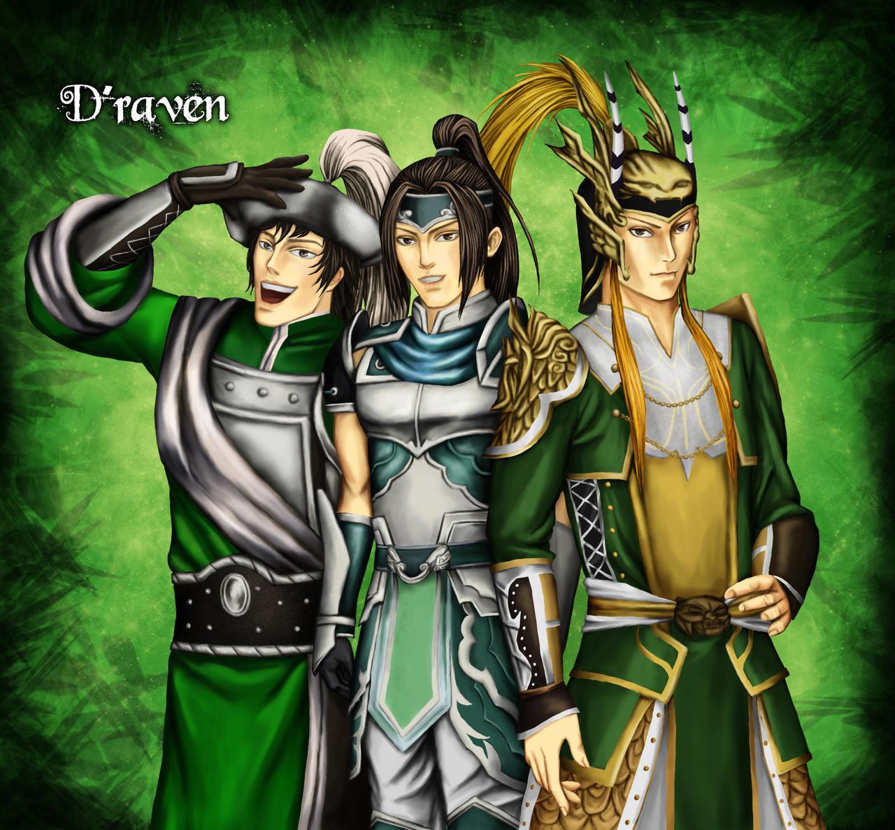 Shu - Trio by Grace-Zed