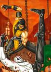 Scorpion vs Quan Chi 1