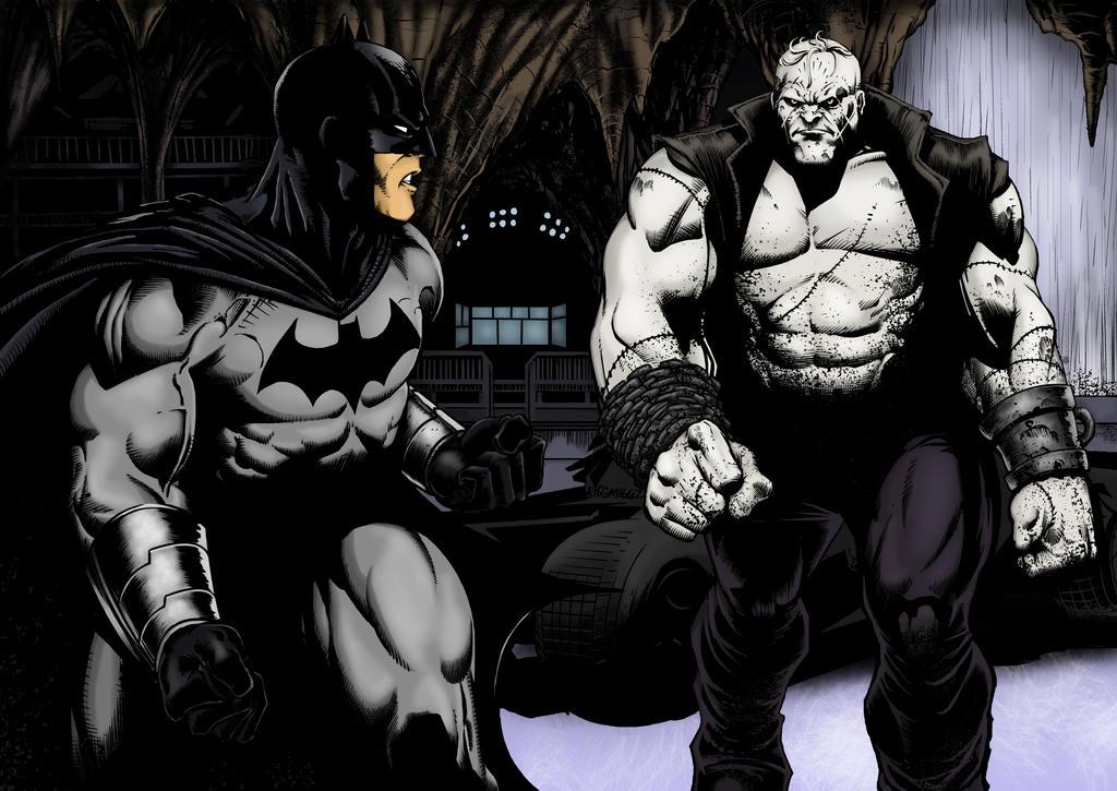 Injustice:  Grundy vs The Bat by Grace-Zed