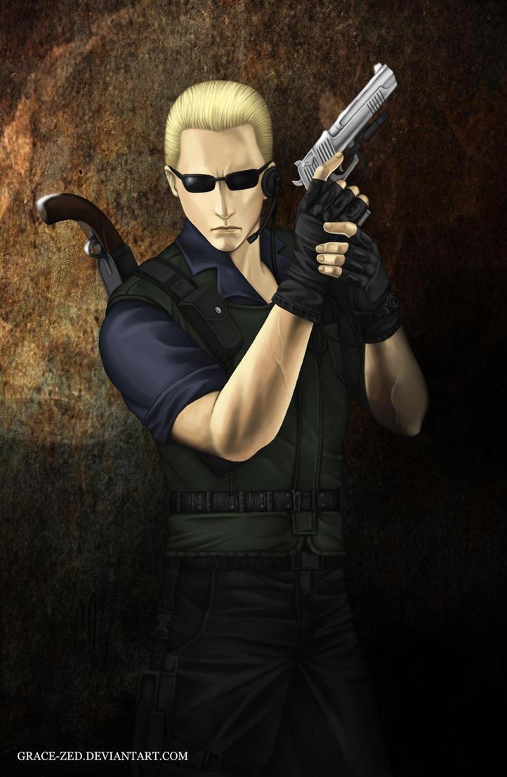 Wesker S.T.A.R.S. by Grace-Zed