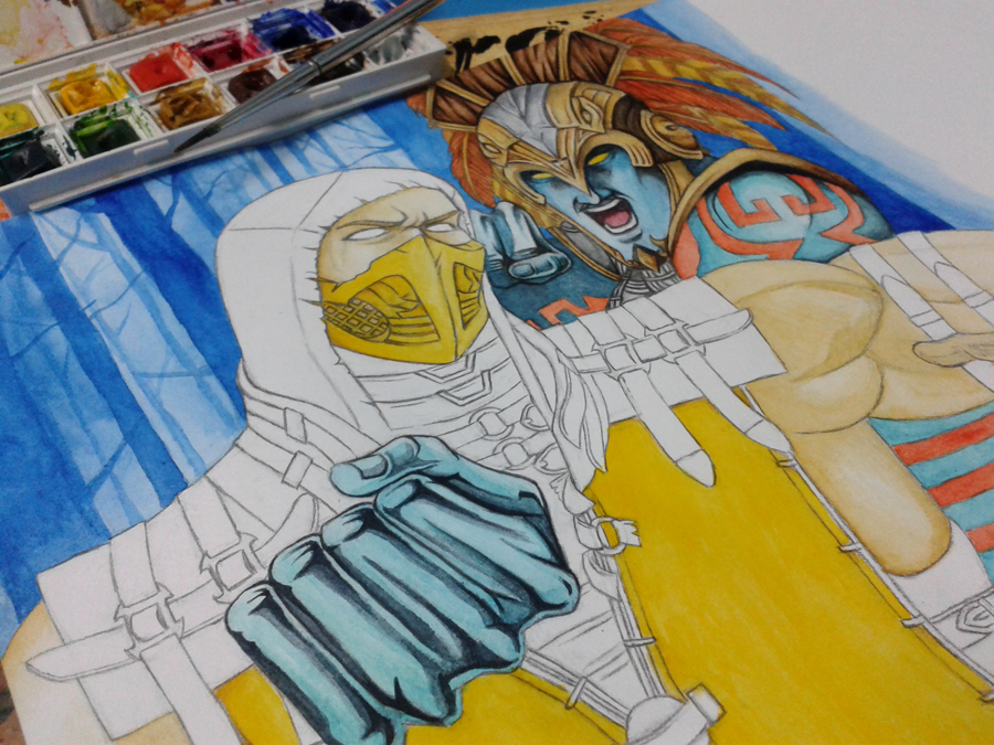 Emperor of Outworld by Grace-Zed on DeviantArt