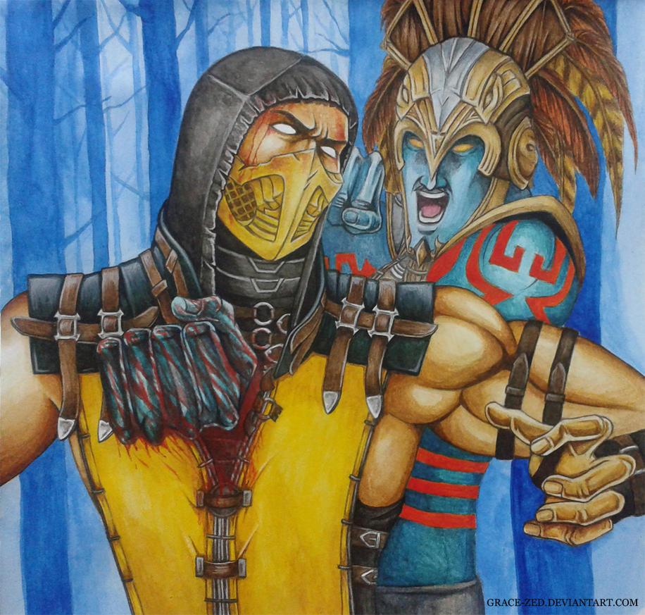 Mileena vs Kotal Kahn 2 by Grace-Zed on DeviantArt