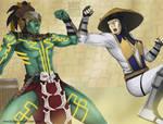 MKX Kotal Kahn vs Raiden