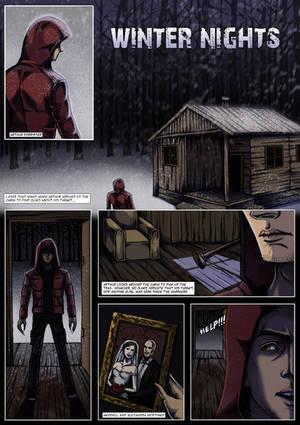 Winter Nights pg 01 by Grace-Zed