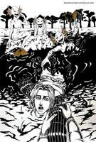 Inktober - Muddy by Grace-Zed