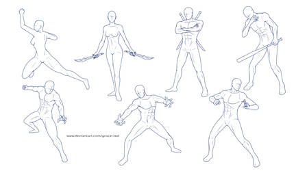 Pose Reference Sheet 4