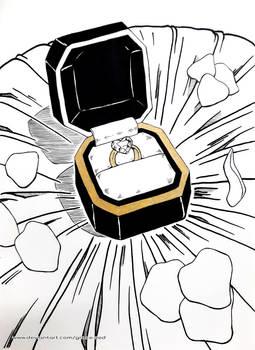 Inktober - Ring