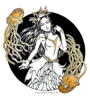 Inktober - Enchanted by Grace-Zed