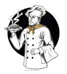 Inktober - Chef