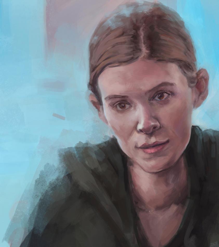 Zoe Barnes by alfalert on DeviantArt