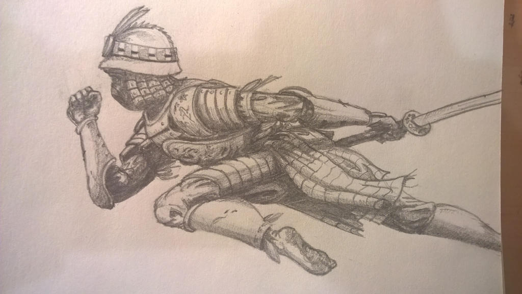 Orochi in pencil. by JMNunderground