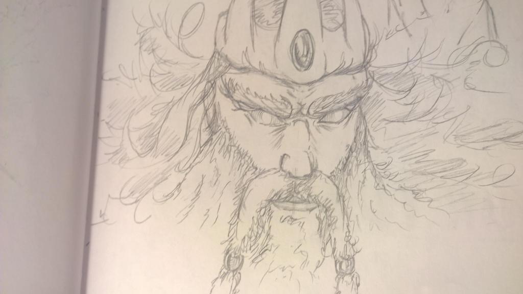Neptune sketch by JMNunderground