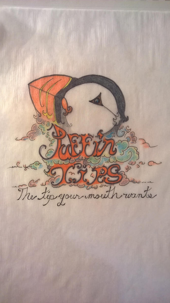 Puffin Tips Vape Tip Company logo. by JMNunderground