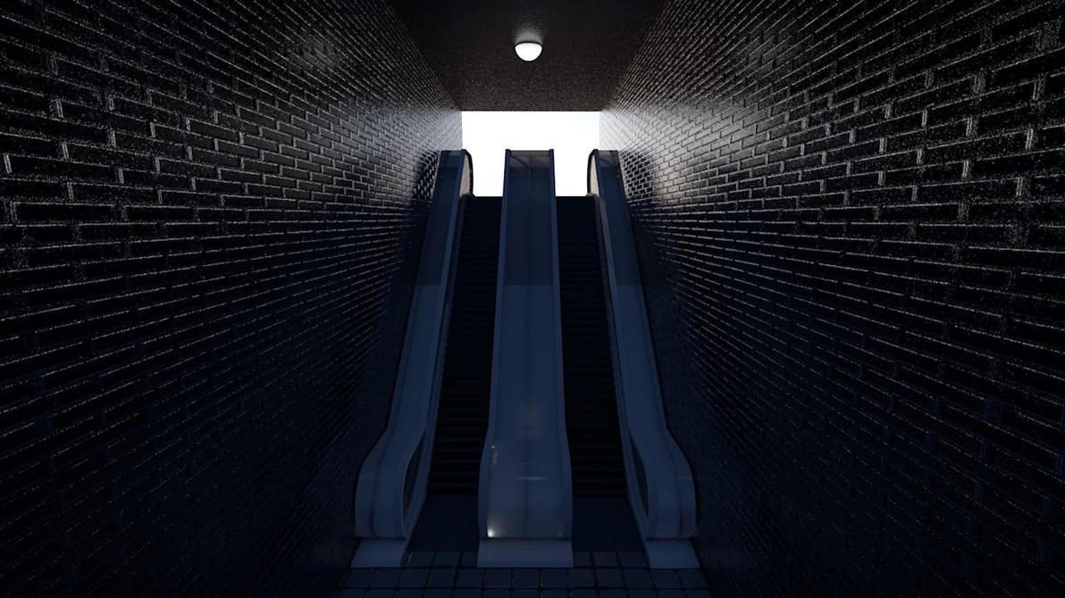 3D Escalator by TenteanG