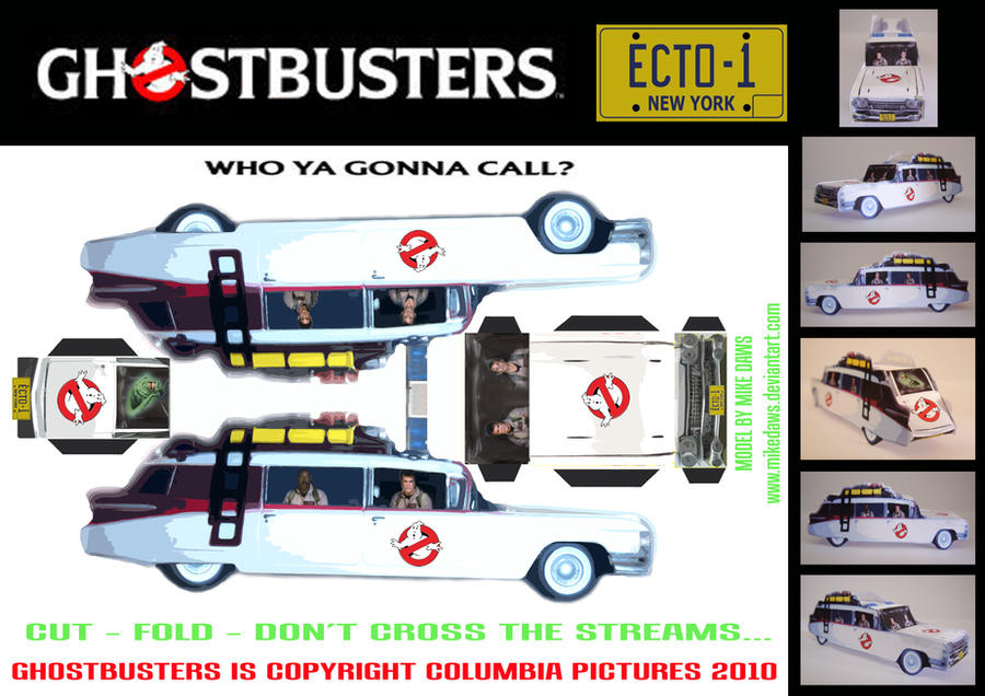 Mini Dwarf Cars Ghostbusters Ecto 1 By Mikedaws On