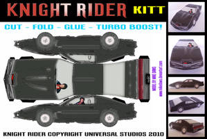Knight Rider - KITT by mikedaws
