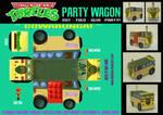 TMNT - Party Wagon