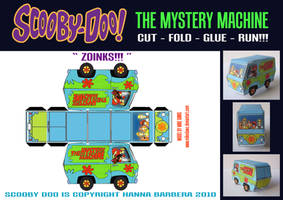 The Mystery Machine by mikedaws