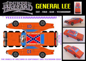 The General Lee by mikedaws
