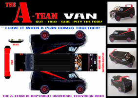 A-Team Van by mikedaws