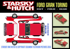 Starsky and Hutch-Gran Torino by mikedaws