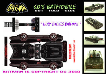 Batman - 60's Batmobile