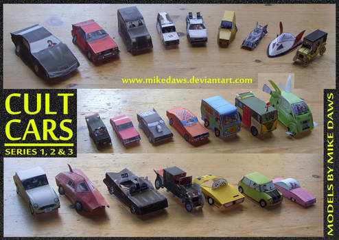 Cult Cars - Series 1-3