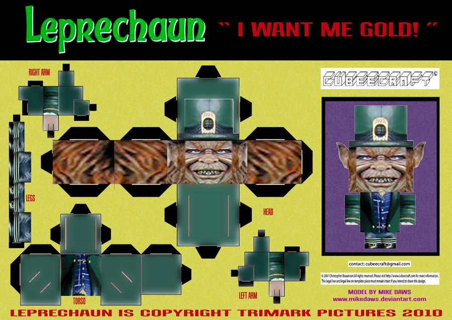 Leprechaun Cubee By Mikedaws On Deviantart