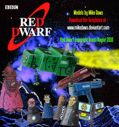 Red Dwarf Models - Series 1