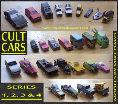 Cult Cars - Series 1 - 4