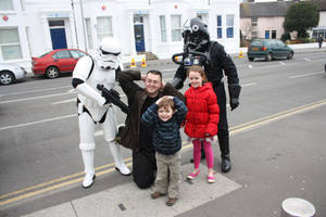 Arrested by Storm Troopers