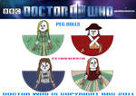 Doctor Who - Peg Dolls