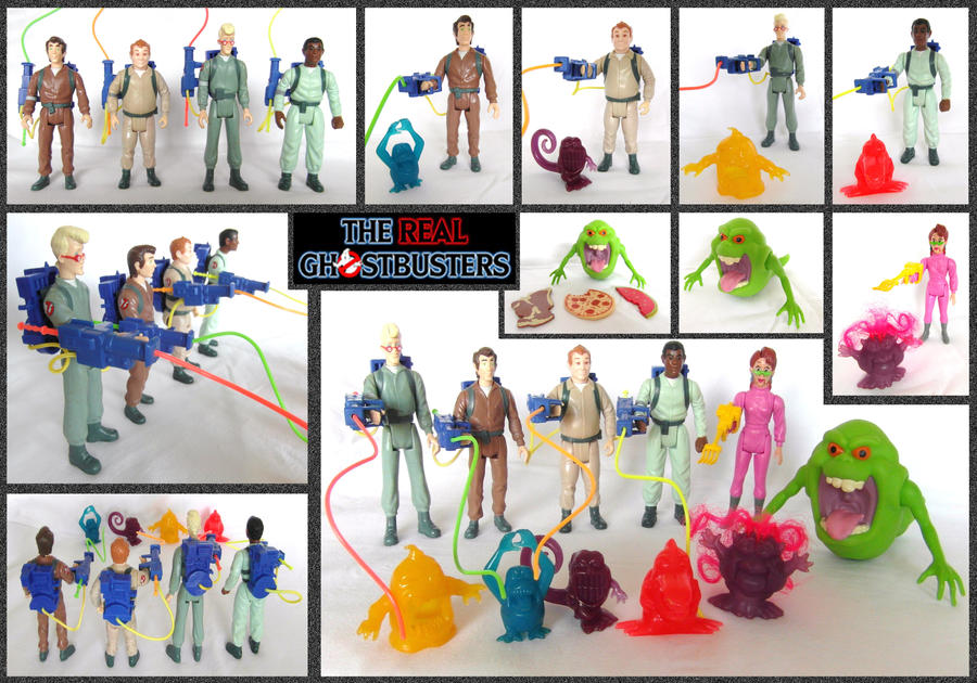 The Real Ghostbusters - Toys