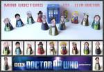 Doctor Who -  Mini Doctors 1 - 11