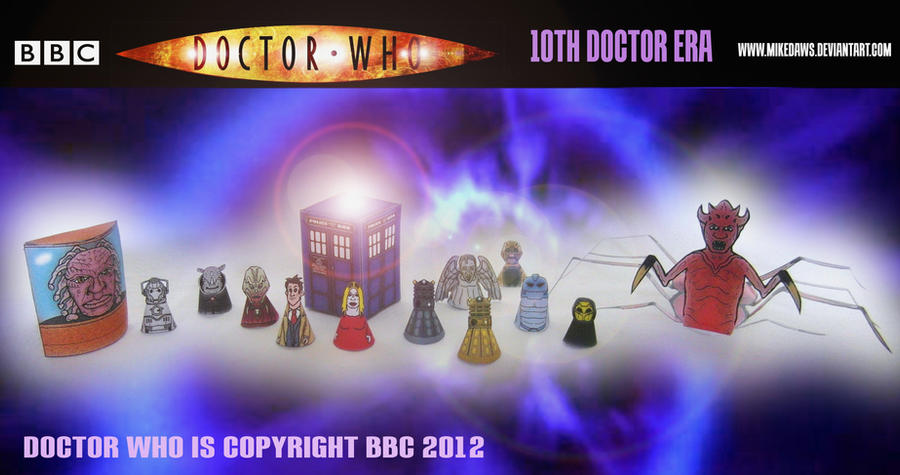 Doctor Who - 10th Doctor Era Models