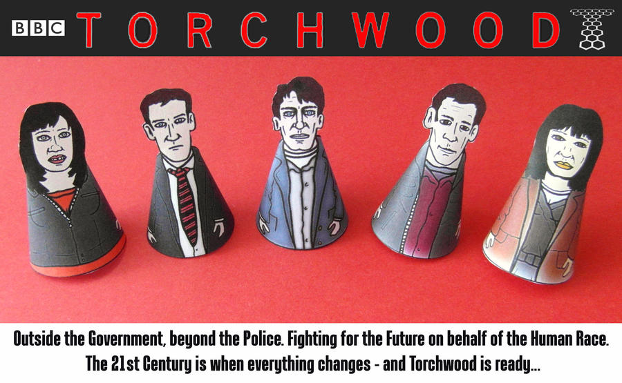 Team Torchwood Minis - 2