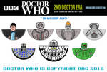 Doctor Who - 2nd Doctor Era Models