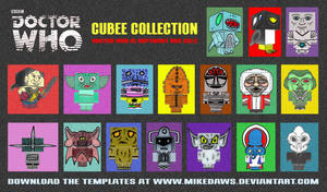 Doctor Who - Cubee Collection