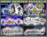 Doctor Who - New Series Models