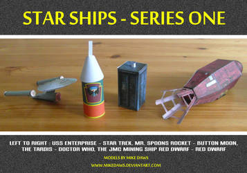Star Ships - Series One by mikedaws