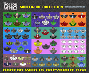Doctor Who - Mini Figure Collection by mikedaws