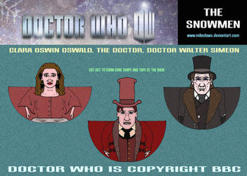 Doctor Who - The Snowmen 2 by mikedaws