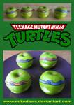 Teenage Mutant Ninja Apples!