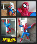 The Inflatable Spider-man!